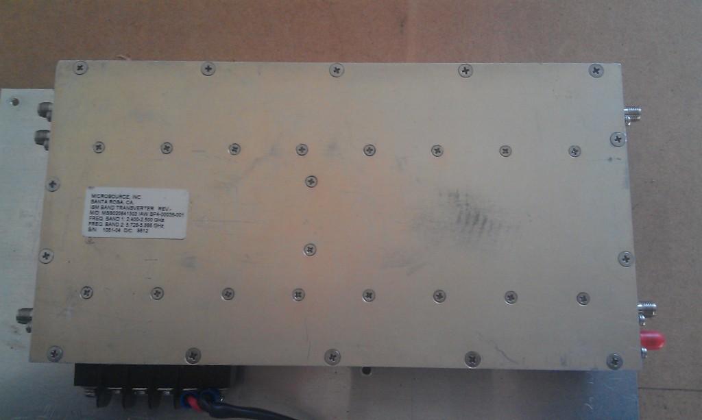 6cm - VK2DAG - 472 KHz to 474 THz -