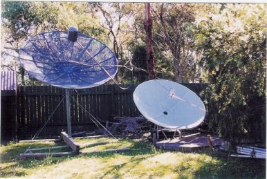 Kariong Backyard 1997
